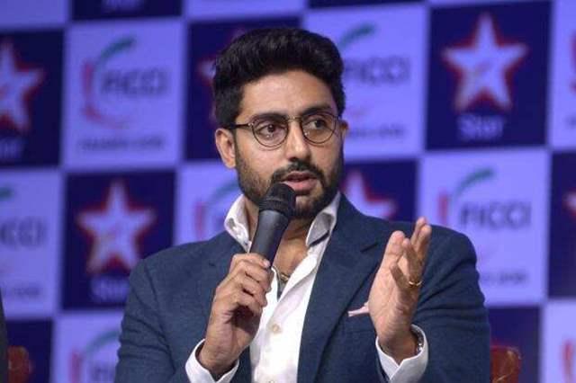 Abhishek Bachchan speaking
