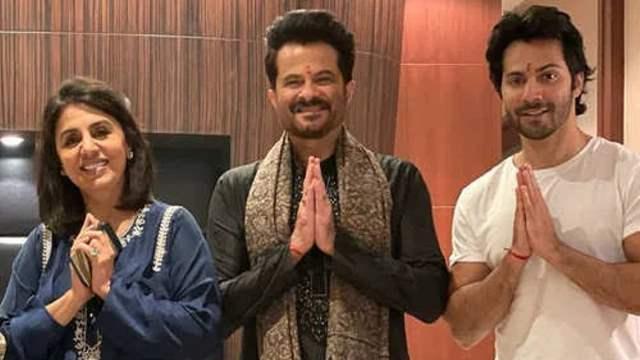 Varun Dhawan, Neetu Kapoor, Raj Mehta Test Positive coronavirus Anil Kapoor