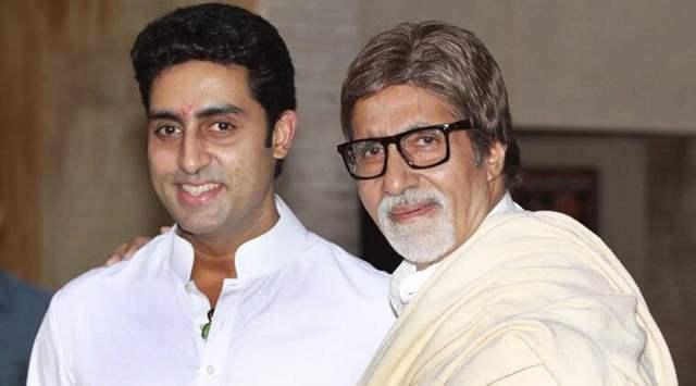 Amitabh Bachchan Abhishek Bachchan