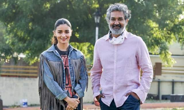 Alia Bhatt and SS Rajamouli