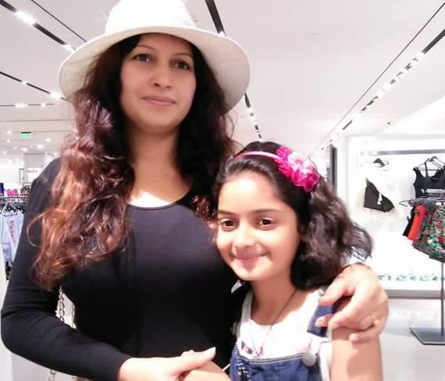 Sonali Phoghat with Daughter