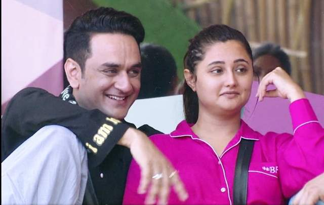 Rashmi Desai and Vikas Gupta