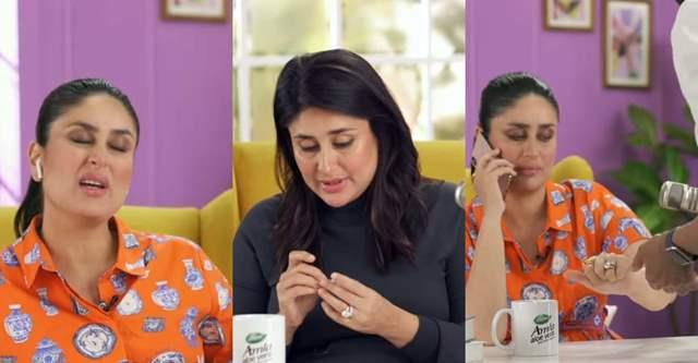 Kareena Kapoor bts video