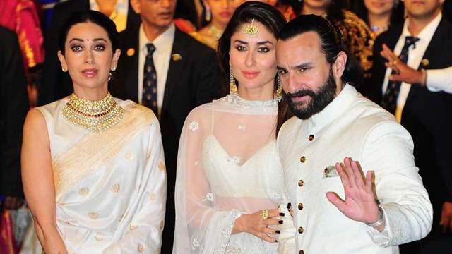 Karisma Kapoor Kareena Kapoor Saif Ali Khan