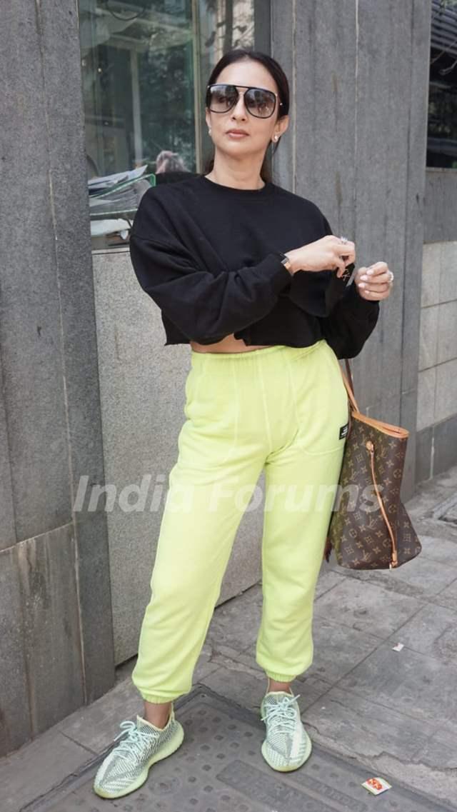 Seema Khan snapped in Andheri