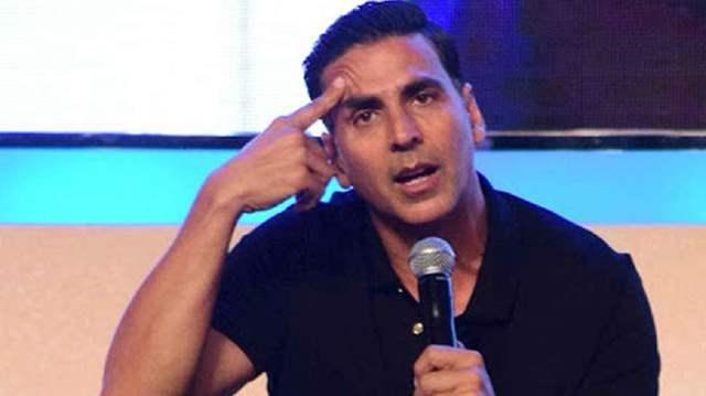 Akshay Kumar speaking