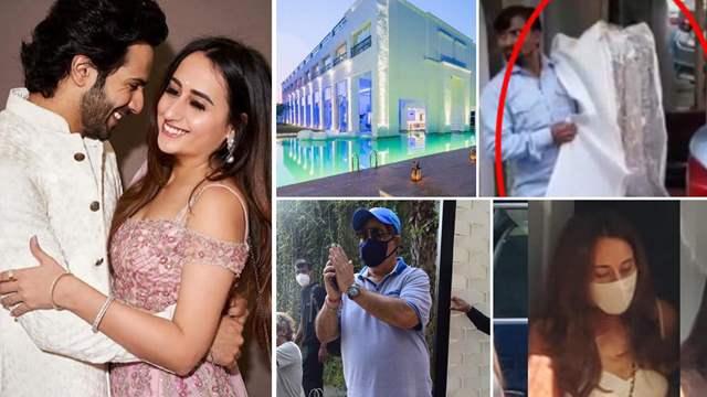 Varun Dhawan-Natasha Dalal Wedding