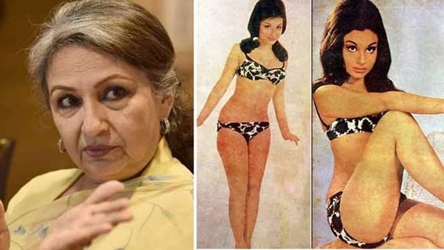 Sharmila Tagore Bikini shoot