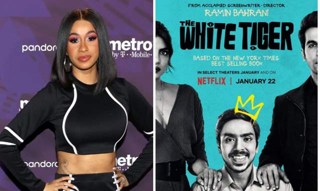 Cardi B praises The White Tiger