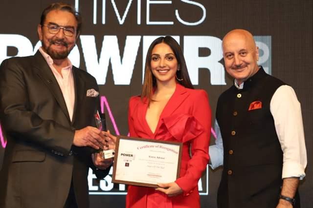 Kiara Advani wins Actor of the Year