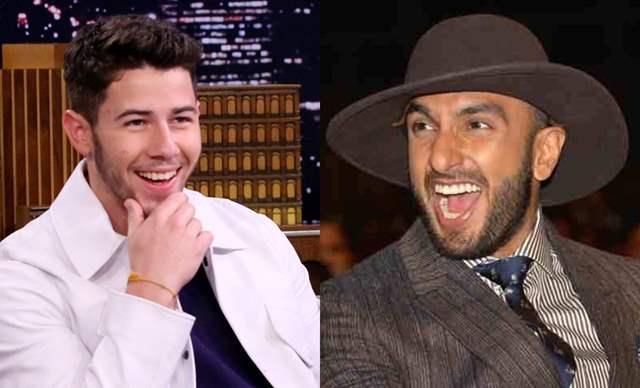 Ranveer Singh Nick Jonas
