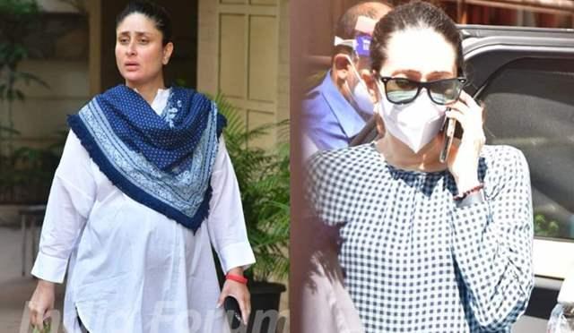 Kareena Kapoor Karisma Kapoor funeral