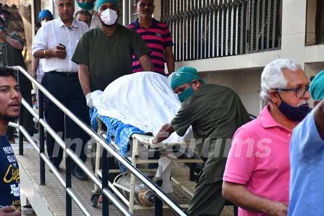 Randhir Kapoor Rajiv Kapoor funeral