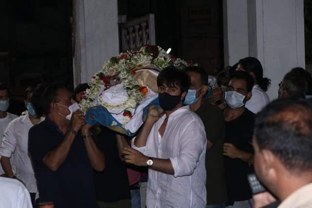 Rajiv Kapoor funeral