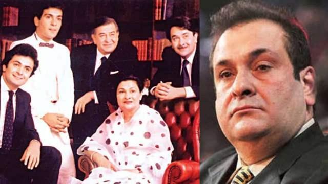 Rajiv Kapoor family