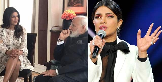 Priyanka Chopra Narendra Modi