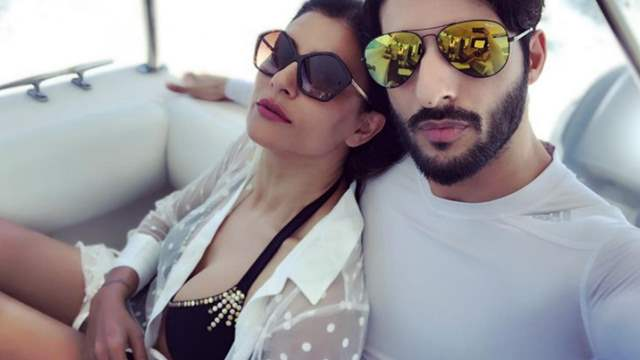 Sushmita Sen and boyfriend Rohman Shawl