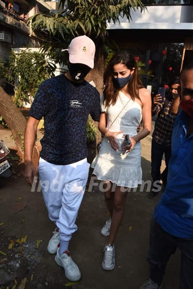 Ishaan Khattar and Ananya Panday