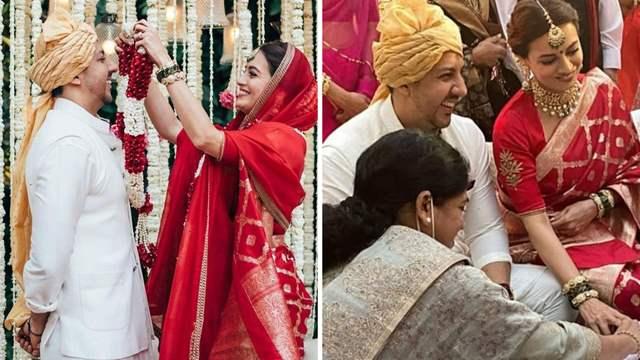 Dia Mirza-Vaibhav Rekhi wedding