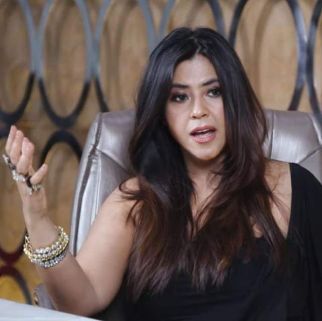 Ekta Kapoor speaking