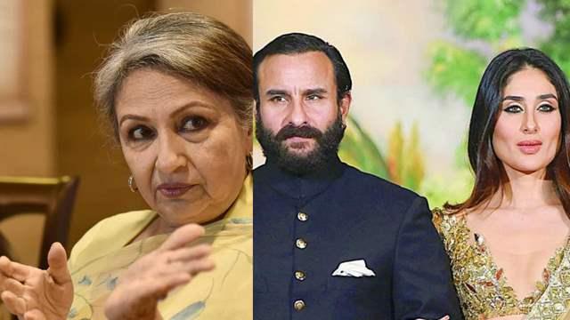 Sharmila Tagore Saif Ali Khan Kareena Kapoor