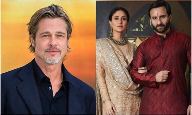 Brad Pitt and Kareena Kapoor Khan