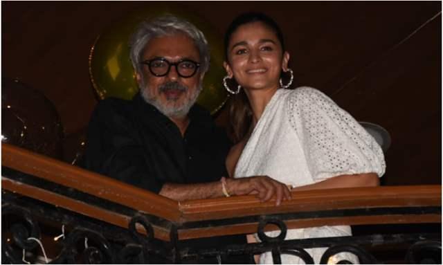 Sanjay Leela Bhansali and Alia Bhatt