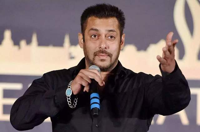 Salman Khan speaking