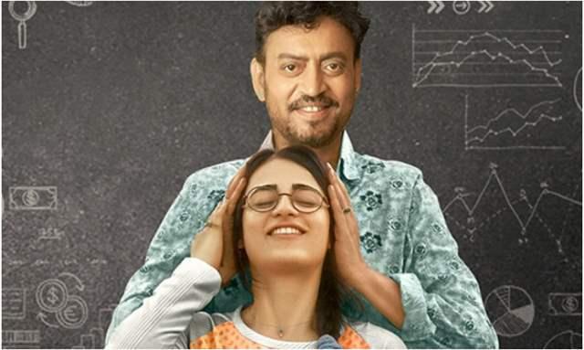Irrfan Khan and Radhika Madan
