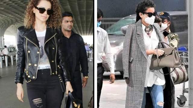 Kangana Ranaut shares pics in ripped jeans