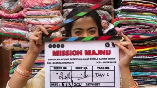 Rashmika Mandanna Mission Majnu Sidharth Malhotra