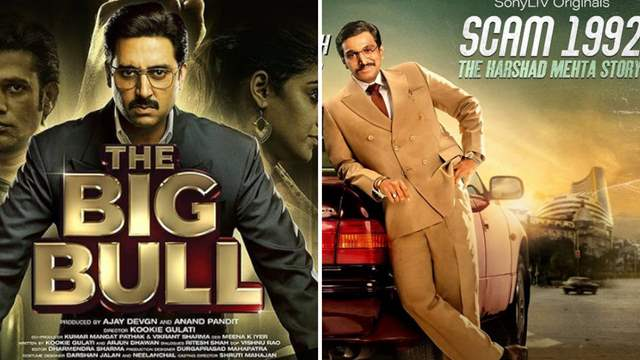 Abhishek Bachchan's Big Bull and Hansal Mehta's Scam 1992