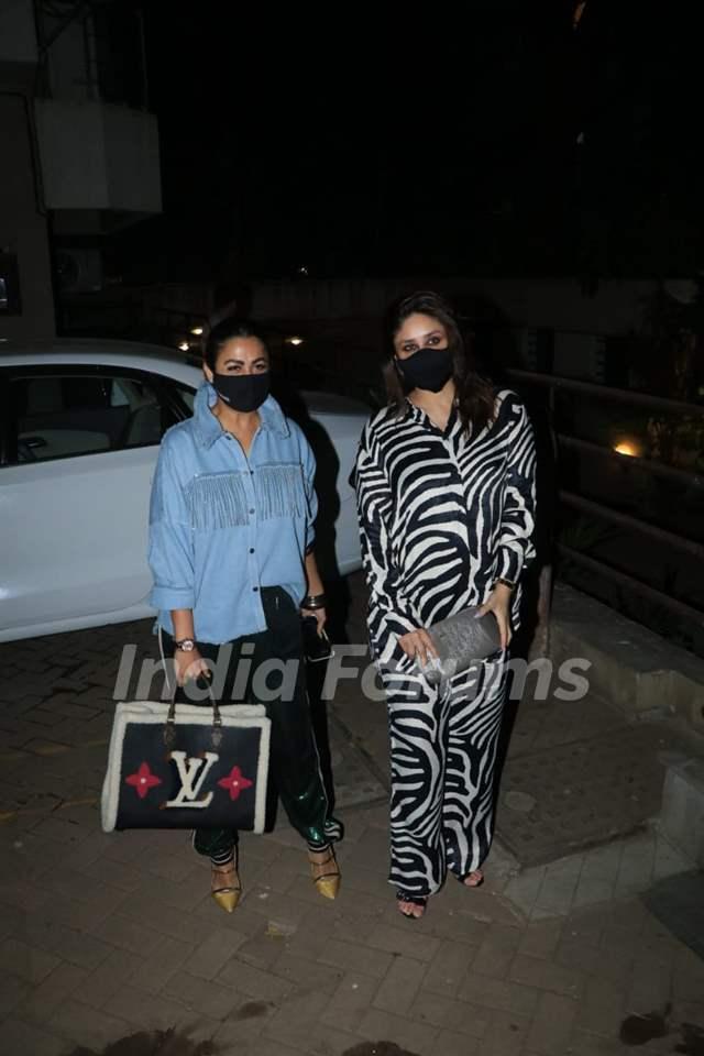 Kareena Kapoor with Amrita Arora