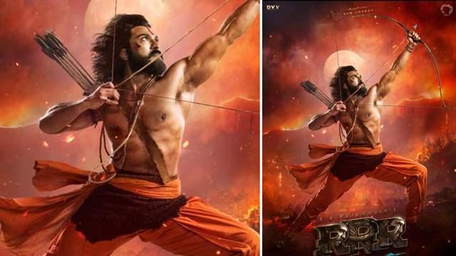 RRR Ram Charan as Alluri Sita Ramaraju