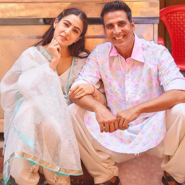 Akshay Kumar Sara Ali Khan