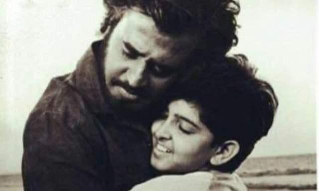 Hrithik Roshan and Rajinikanth