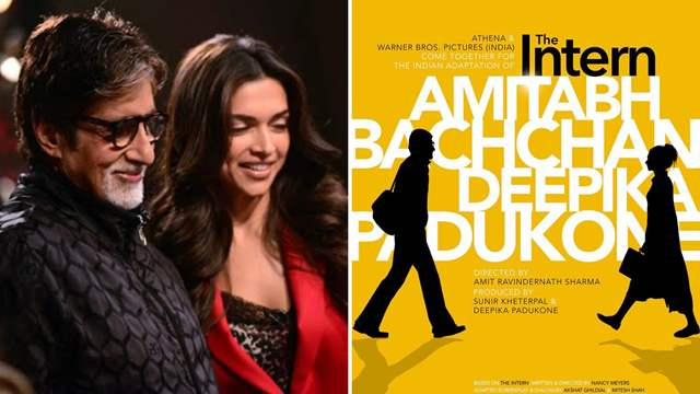 Deepika Padukone and Amitabh Bachchan 'The Intern'