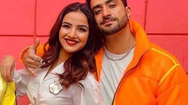 Jasmin Bhasin and Aly Goni