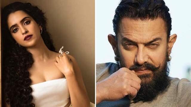Sanya Malhotra Aamir Khan
