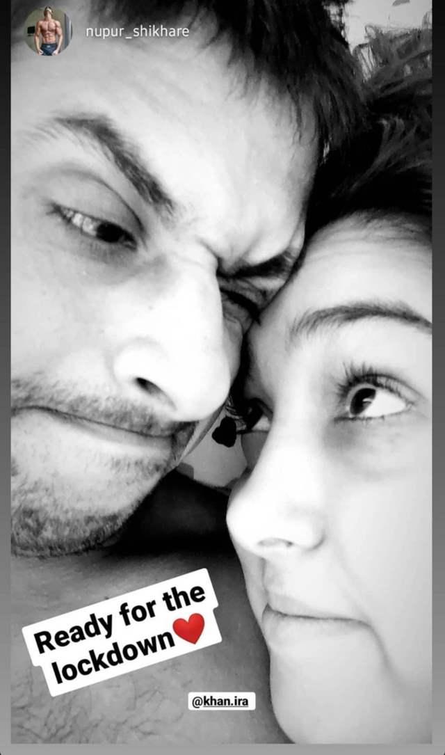 Ira Khan and her boyfriend Nupur Shikhare