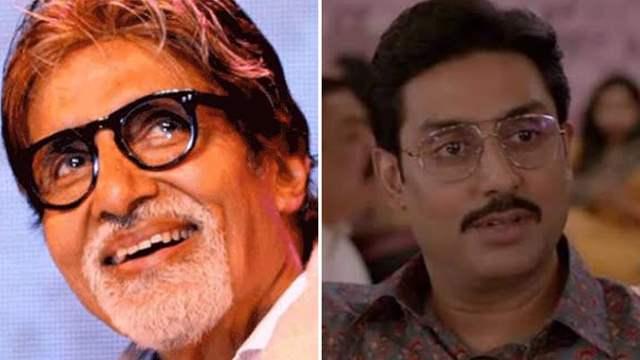 Abhishek Bachchan The Big Bull Amitabh Bachchan