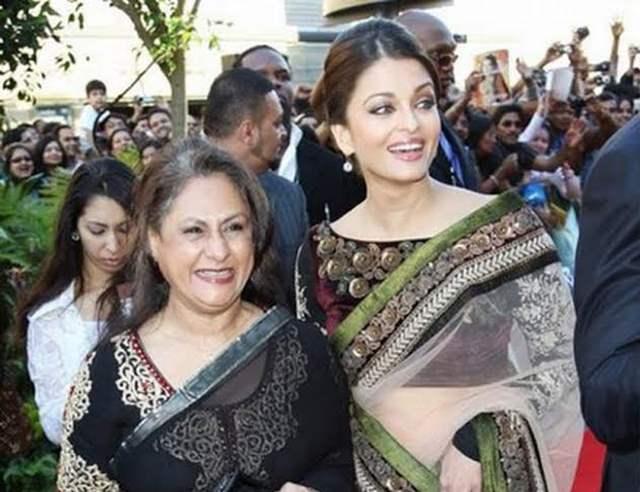 Aishwwarya Rai Bachchan Jaya Bachchan