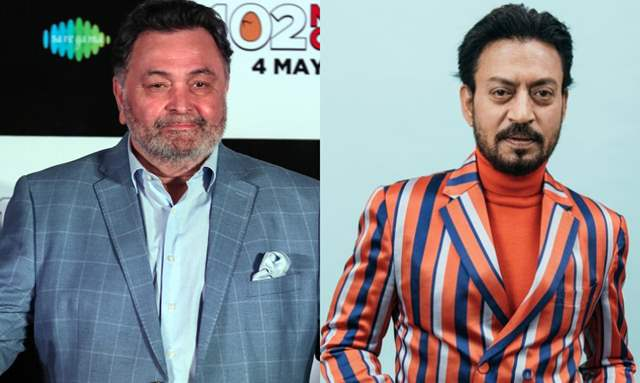Rishi Kapoor and Irrfan Khan