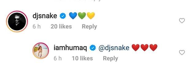 Huma Qureshi DJ Snake