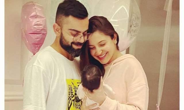 Anushka Sharma and Virat Kohli Baby Vamika