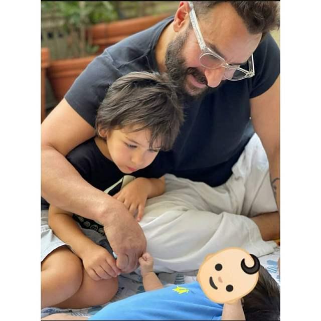 Saif Taimur newborn