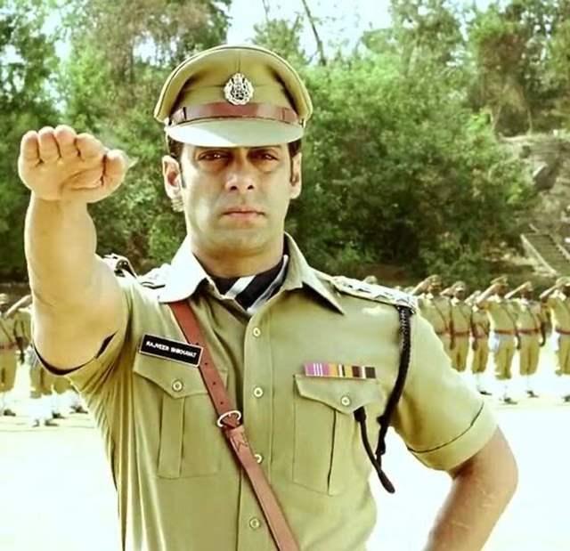Salman Khan police officer movies