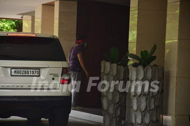 Saif Ali Khan spotted in Bandra