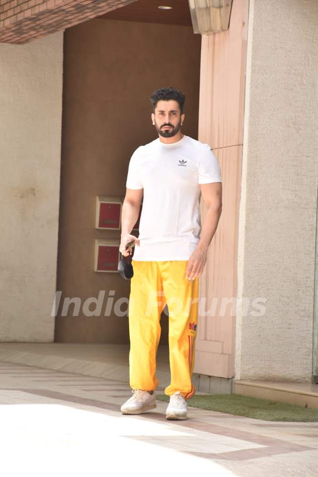 Sunny Singh snapped in Juhu