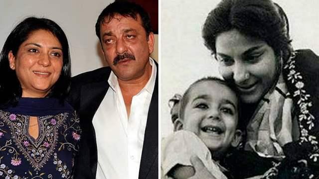 Sanjay Dutt and Priya Dutt